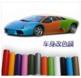 Vinilo cambiante del color de carrocería de coche de la etiqueta engomada del vinilo del color del calor