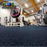 Anti stuoia della pavimentazione di ginnastica del rullo di gomma di forma fisica di slittamento