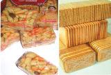 Quadratische Biskuit-Plätzchen-Zellophan-Verpackung