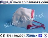Máscara de pó não-tecida com CE para industrial