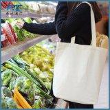 Soem-Einkaufstasche-preiswerterer Baumwollsegeltuchdrawstring-Beutel