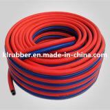 Boyau en caoutchouc flexible à haute pression de l'oxygène avec l'ajustage de précision hydraulique