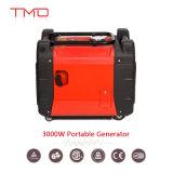 Generador portable de la gasolina de la gasolina de 3kw 3kVA