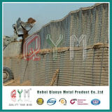 Parede defensiva pesadamente galvanizada de Hesco Barrier/1/5mm Hesco Spiral/4mm Hesco