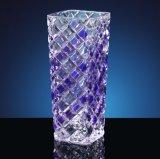 Fábrica de suprimentos baratos por atacado de vasos de cristal Tall barato vasos claros