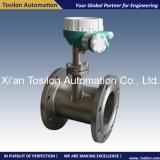 Compteur de débit liquide magnétique inductif avec le commutateur pour le carburant-