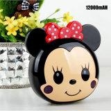 De in het groot Leuke Bank van de Macht van Mickey Mouse Draagbare met RoHS