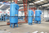 Filtro a sacco industriale per l'impianto di per il trattamento dell'acqua