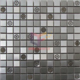 Инкрустированная кристаллом мозаика нержавеющей стали (CFM1011)