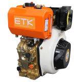縦の直接注入/Airはディーゼル機関(E) ETK186FAを冷却した