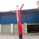 Danseur gonflable d'air du père noël pour la publicité