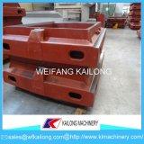 Linha de molde elevada caixa da carcaça da areia da produção de molde usada para a fundição