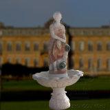 Bella signora di marmo naturale Statue Fountain sulla vendita