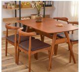 Mobiliário de jantar moderno Restaurante Cadeira de jantar em madeira