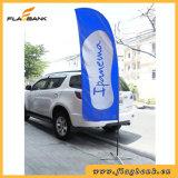bandierina di spiaggia di alluminio di stampa di Digitahi di promozione di evento di 3.4m/bandierina della piuma