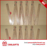 Cancelleria per 2m righello di piegatura di legno delle 10 volte