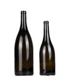 [توب قوليتي] زجاجيّة [شمبن] زجاجة مع [كلور.] مظلمة رماديّ