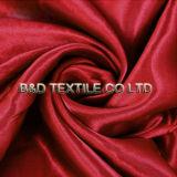 Tissu 100% de satin de polyester pour le drap