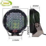 까만 크리 사람 320W 9inch 자동 작동 램프 LED 모는 빛