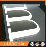 LED Señalización Impermeable al Aire Libre del Acrílico