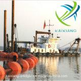중국에서 판매를 위한 Kaixiang 250 Cbm/H 유압 절단기 흡입 준설선