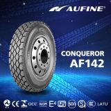 Neumático de Camión marca Aufine con ECE 9.00R20 Neumático de Camión Radial para el neumático radial