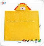 Coperta Huggable di Hoodie del leone di colore giallo della peluche