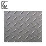 0.3-3mm Checkered Blatt des Edelstahl-304