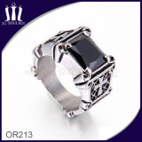 316L Titanium Vintage Cross Jewellery Diamond Ring