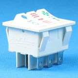 Белый перекидной переключатель 250V 3pole 16A T125 R11