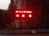 Affichage à LED Extérieur de dessus de taxi de la couleur P10 rouge