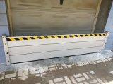 La impermeabilización de la barrera de control de inundaciones en aluminio anodizado