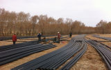 Do16-1800mm HDPE Pijp voor het Stedelijke Systeem van de Watervoorziening 0.6MPa-1.6MPa