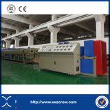 Novo design de alto desempenho da linha de extrusão de tubos PE