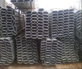 Пробка Китая гальванизированная поставщиком плоская овальная/овальное Pipe60X30