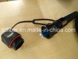 Odva - de DuplexIP67 Optische Kabel van de Vezel LC
