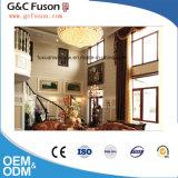 Guichet en aluminium de tissu pour rideaux de double vitrage de norme européenne à vendre