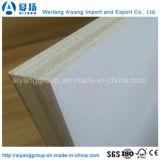 Contre-plaqué de mélamine de modèle personnalisé par faisceau de bois dur pour les meubles/Module