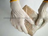Хлопок вязание снаружи защитные перчатки