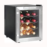 아무 소음도 공기 냉각 스테인리스 포도주 냉장고를 자동 녹이지 않는다
