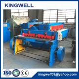 Máquina que pela mecánica Q11-3X1300 con el espesor que corta de 3m m