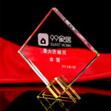 Hot Selling Crystal Trophy for Souvenir
