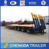 4 Aanhangwagen van de Vrachtwagen Lowboy van Axel 100ton de Semi voor Verkoop