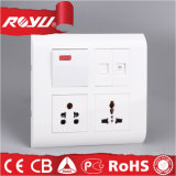 6/16A Type Universal Type 32A Module Combined Switched Socket