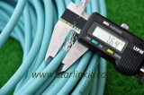 Alta velocidad 600MHz CAT6A STP Cable LAN para red 10g