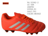 Black and Orange Lady' S Shoes Football Inventories Shoes 35-38#