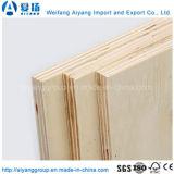 madera contrachapada del anuncio publicitario del pegamento de la base E1 E0 del álamo de 1220X2440m m