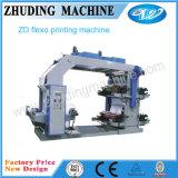 Impresora no tejida de Flexo de las telas de la eficacia alta del modelo nuevo (series de ZD)