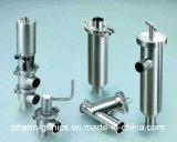 Medidas sanitárias Ss 304/316L apertadas filtro tipo de equipamentos para a Indústria Farmacêutica
