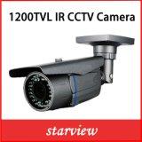 Camera van de Veiligheid van de Kogel van kabeltelevisie van de Lens van het toezicht 1200tvl IRL Varifocal de Video Waterdichte IP66